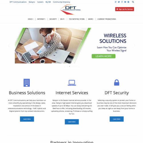 DFT Communications by Luke Weatherlow